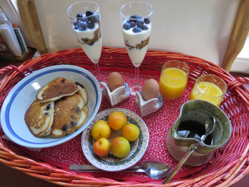 Sample Breakfast Basket