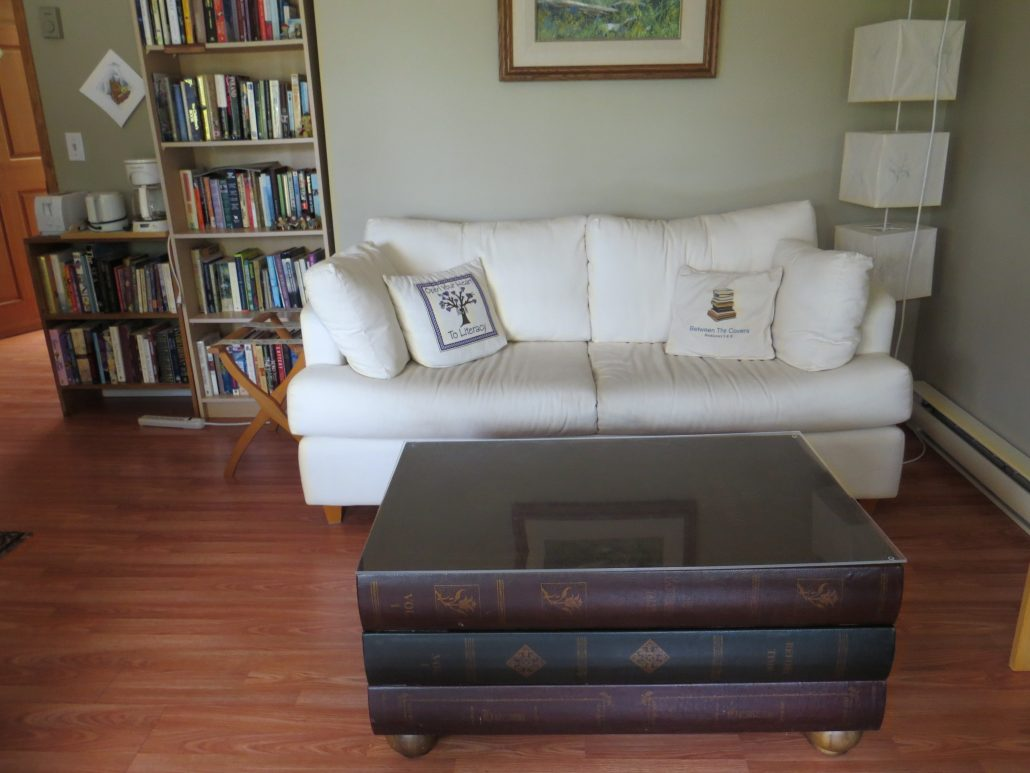 Fiction Room sitting area