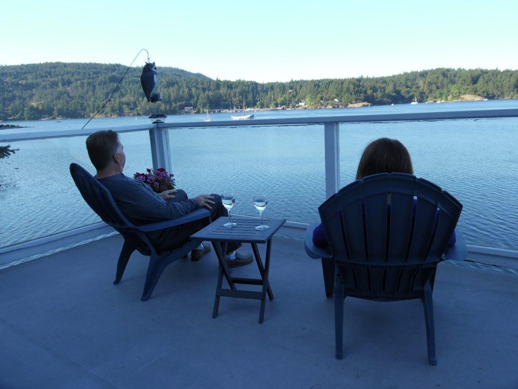 Sunrise Suite deck