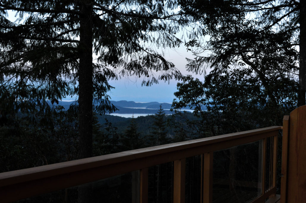 View from the Mt.Maxwell Trail room